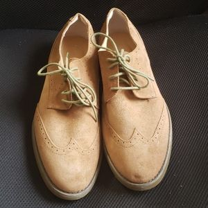 Calvin Klein Faxon suede shoe